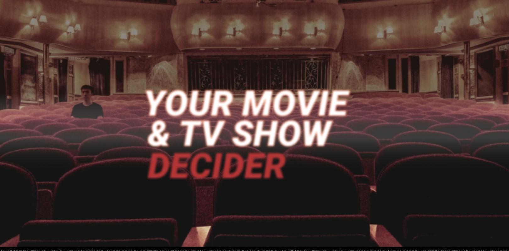Your Movie Tv Show Decider Cinetropa